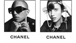 Фаррелл Уильямс и Маргарет Куэлли снялись в кампейне солнцезащитных очков Chanel-320x180