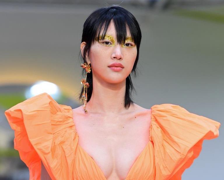 стрижка маллет что это - азиатская модель