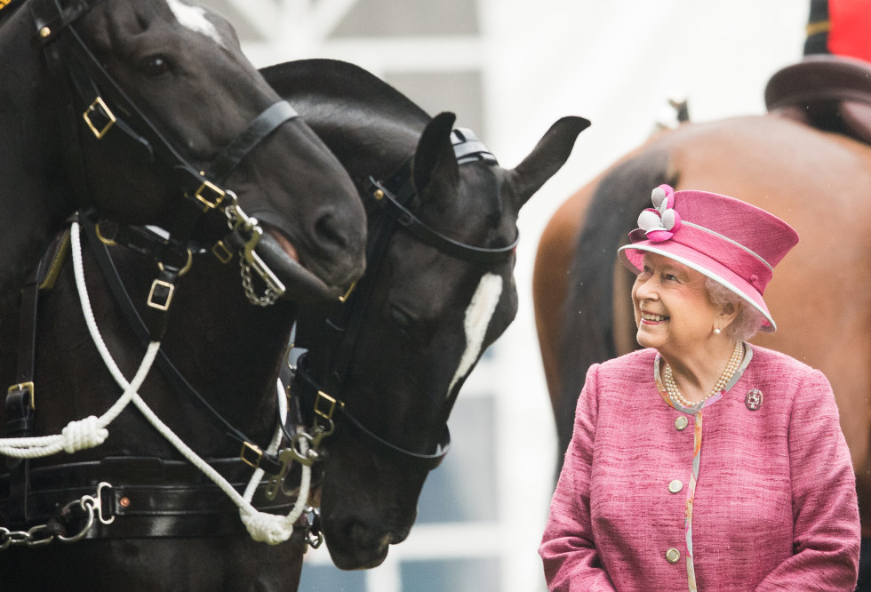 Королеву Елизавету II впервые с начала карантина сфотографировали на конной прогулке-Фото 1