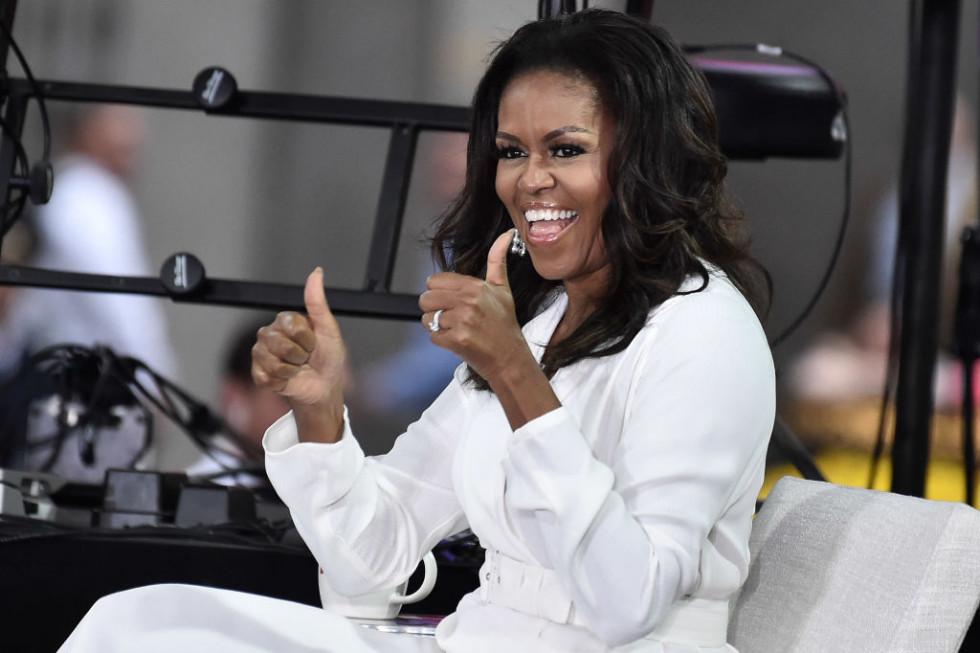 Мишель Обама вручила Бейонсе гуманитарную награду на BET Awards-Фото 1