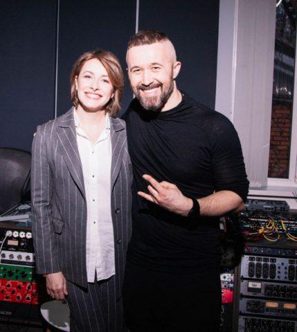 Сергей Бабкин с Еленой Кравец презентуют песню «Спалах»-430x480