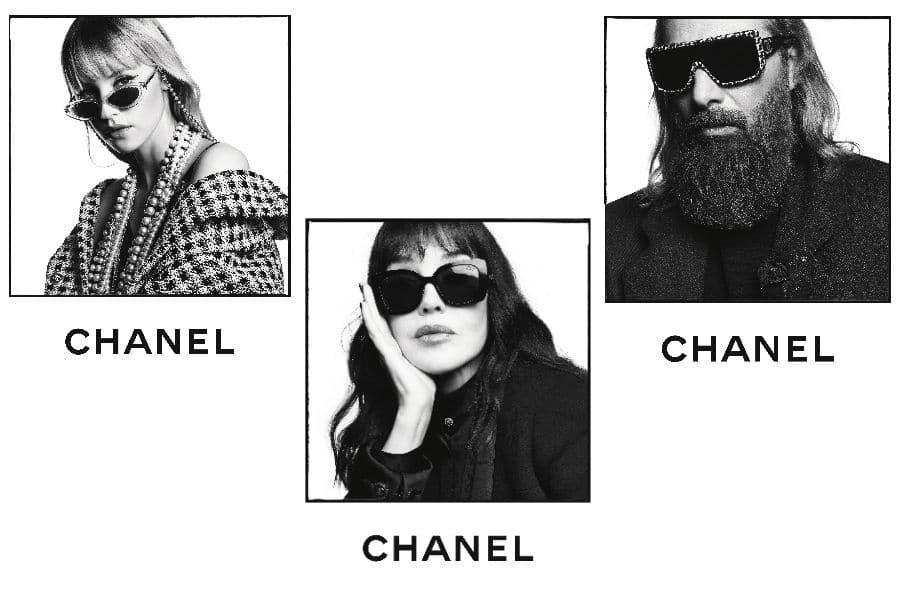 Фаррелл Уильямс и Маргарет Куэлли снялись в кампейне солнцезащитных очков Chanel-Фото 2
