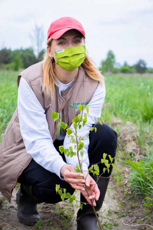 Фонд Yves Rocher висадив 100 000 дерев в Україні-Фото 1