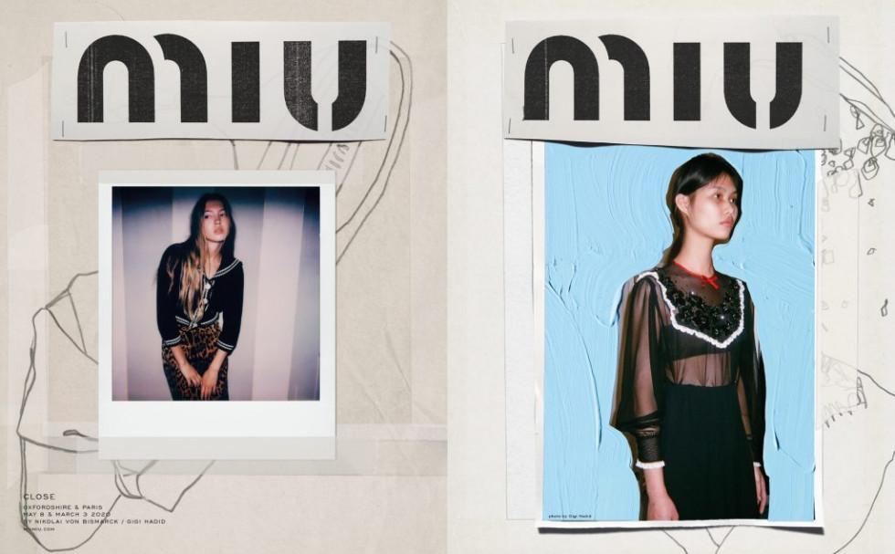 Дочь Кейт Мосс стала лицом кампейна Miu Miu AW 20-Фото 1