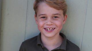 Birthday boy: Кейт Миддлтон сделала фото Джорджа в честь семилетия-320x180