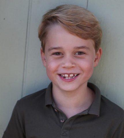 Birthday boy: Кейт Миддлтон сделала фото Джорджа в честь семилетия-430x480