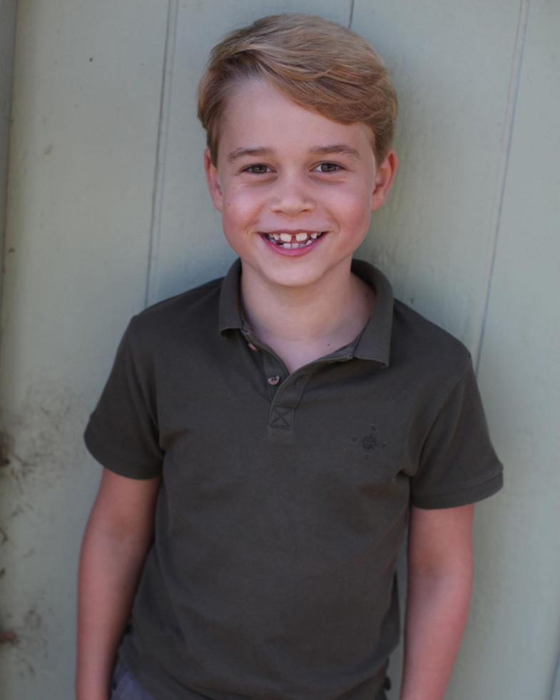 Birthday boy: Кейт Миддлтон сделала фото Джорджа в честь семилетия-Фото 1