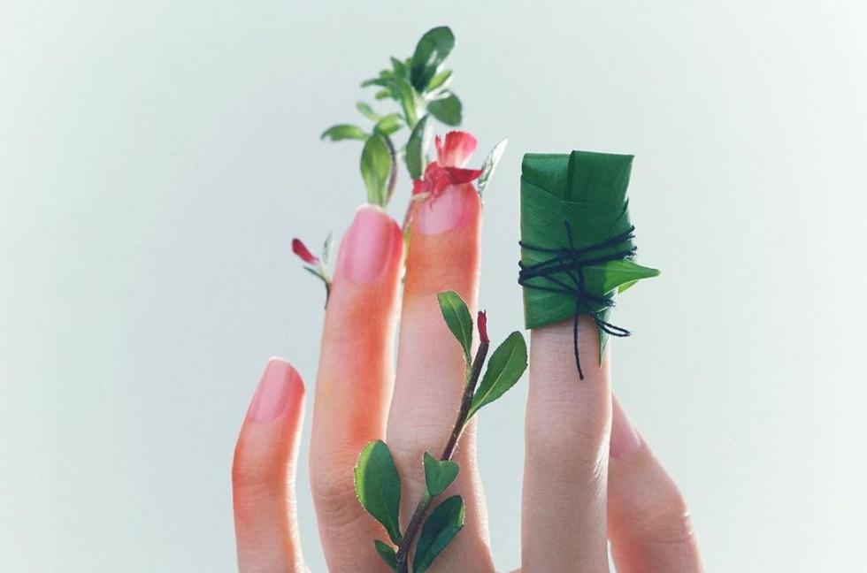 Идеи для летнего маникюра из окружающей среды-Фото 1