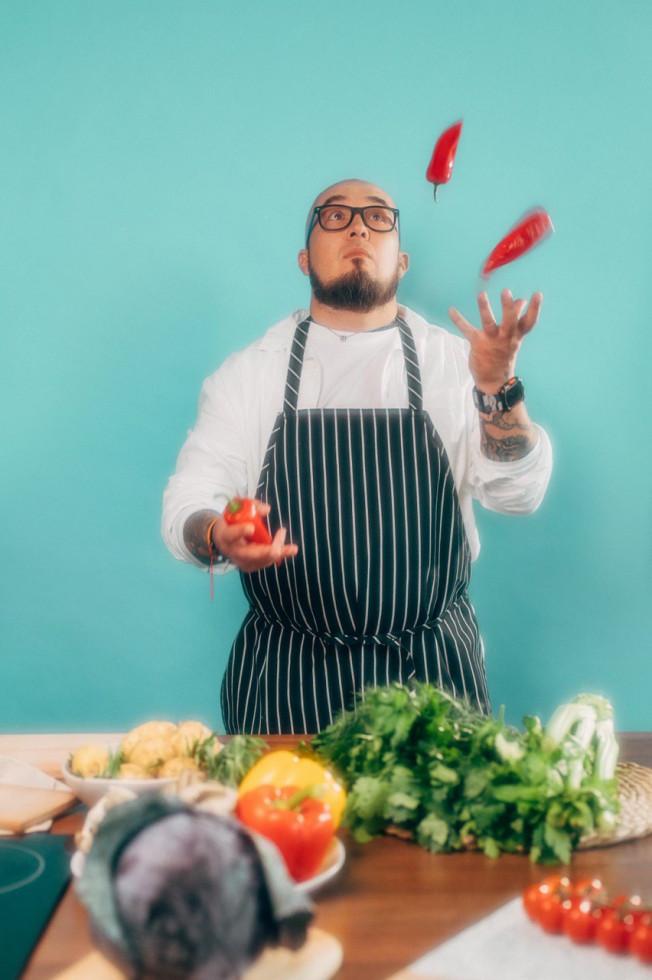 Мужчина говорит: шеф-повар Илья Демковський-Фото 4
