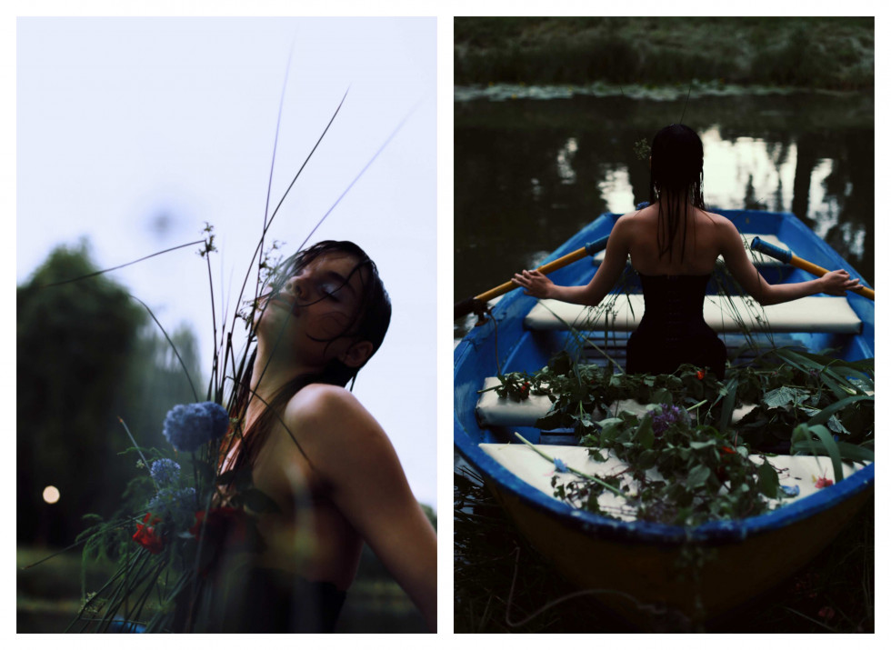 Where the wild roses grow. Эксклюзивная съемка Marie Claire X Le narcotique-Фото 7