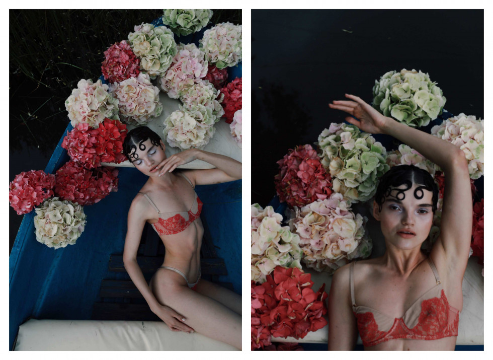 Where the wild roses grow. Эксклюзивная съемка Marie Claire X Le narcotique-Фото 3
