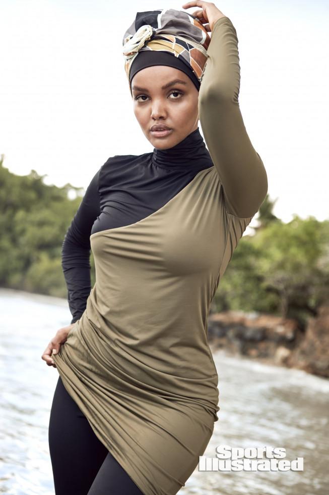 Модель в хиджабе Халима Аден снялась для Sports Illustrated-Фото 2