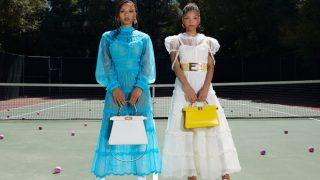 Chloe x Halle стали звездами рекламной кампании Fendi-320x180