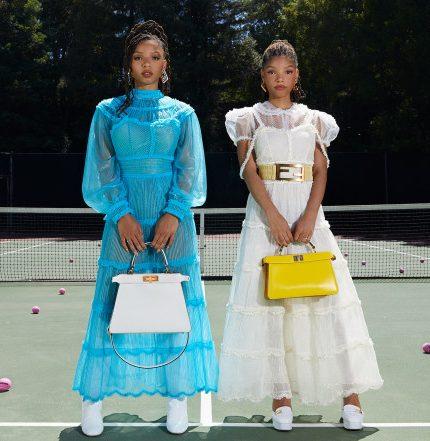 Chloe x Halle стали звездами рекламной кампании Fendi-430x480