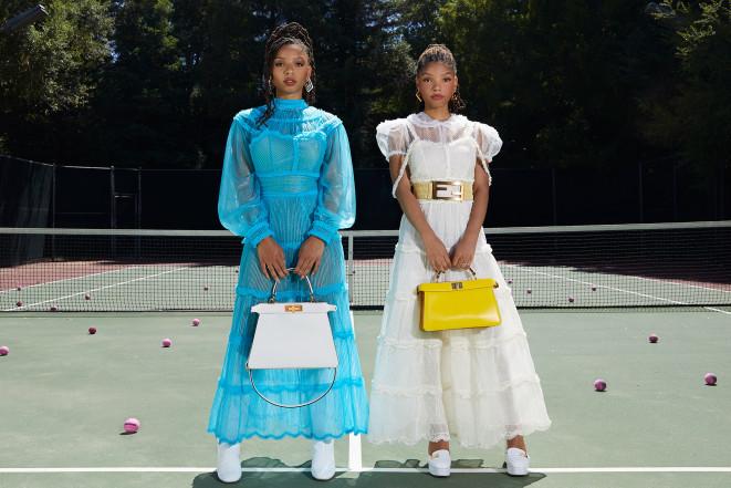 Chloe x Halle стали звездами рекламной кампании Fendi-Фото 1
