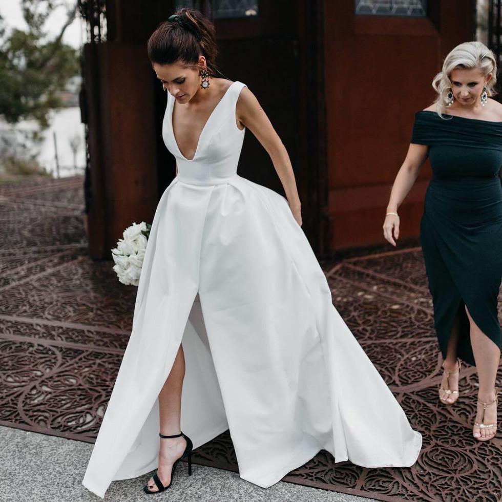 10 самых красивых свадебных платьев 2020 года-Фото 7