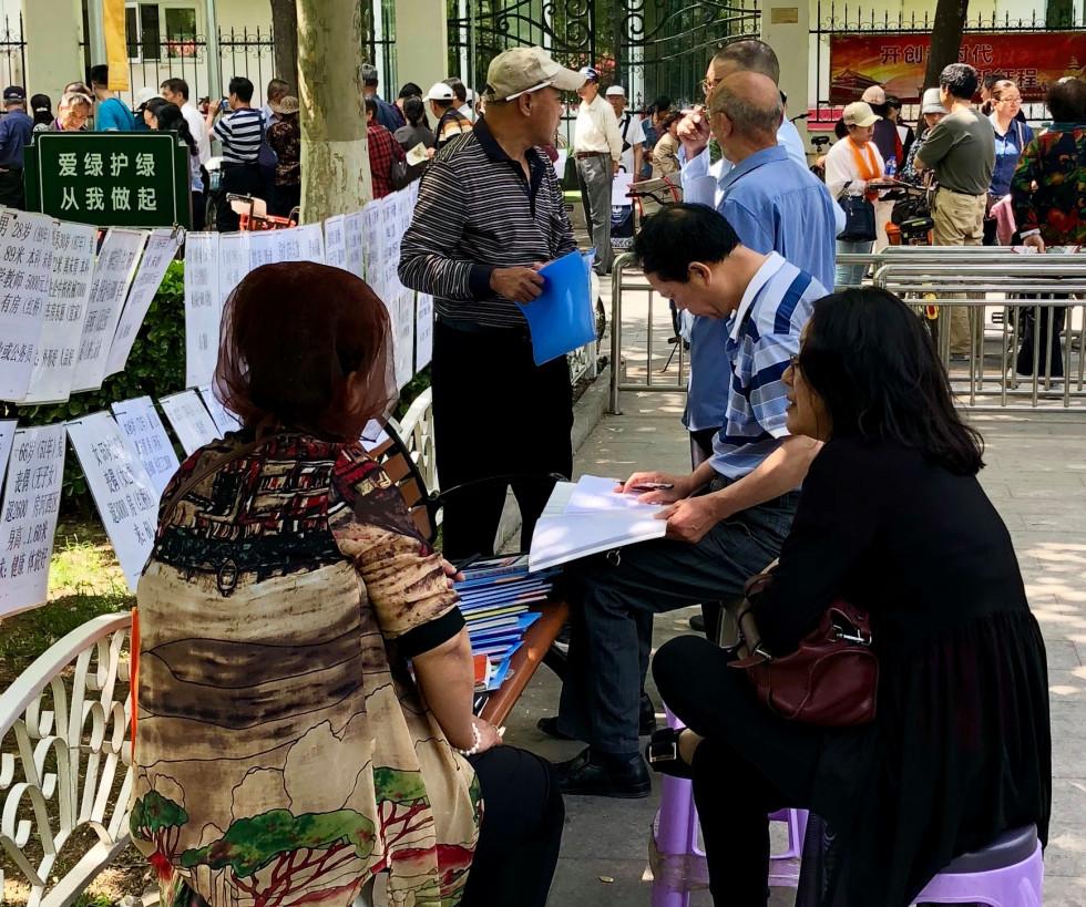 Последний шанс найти любовь: как выглядит ярмарка холостяков в Китае-Фото 6