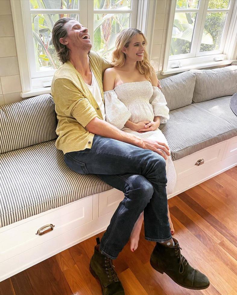 Эмма Робертс поделилась новостью о своей беременности-Фото 1