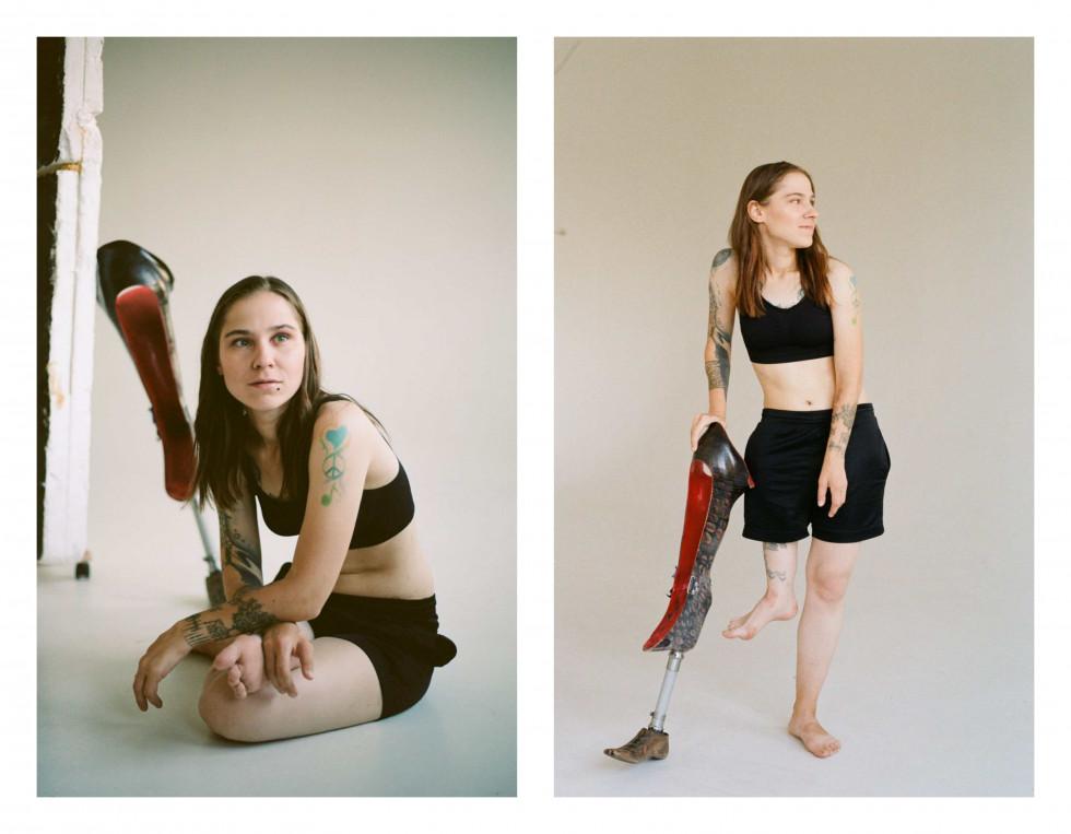 """Фотографка Діана Андруник про проєкт """"Не така як інші вона"""": «Хочу розмити уявну лінію між стандартами краси»-Фото 13"""