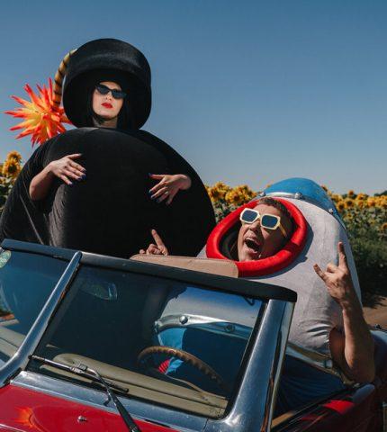 Как создавались «Бомба» и «Ракета»: костюмы из нового видеоклипа Сергея Бабкина-430x480