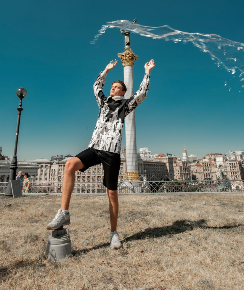 Love Kyiv: Жан Грицфельдт объединился с тиктокерами-миллионниками-Фото 16