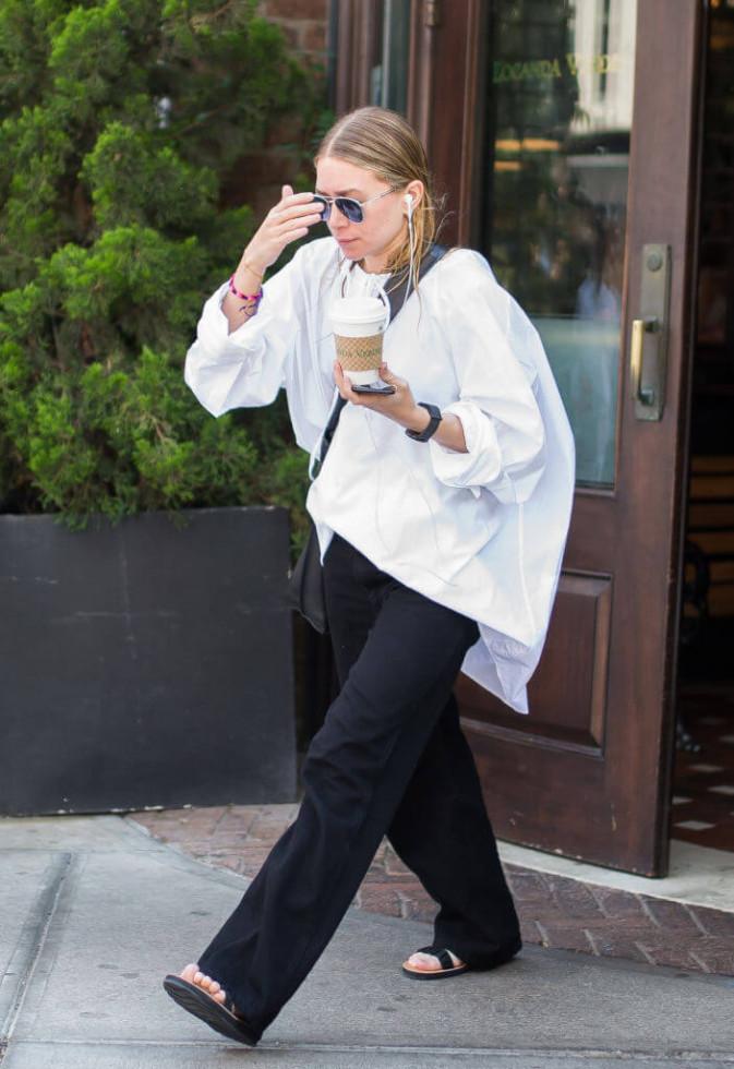 Иконы стиля: Почему следует изучить содержимое гардеробов сестер Олсен-Фото 5