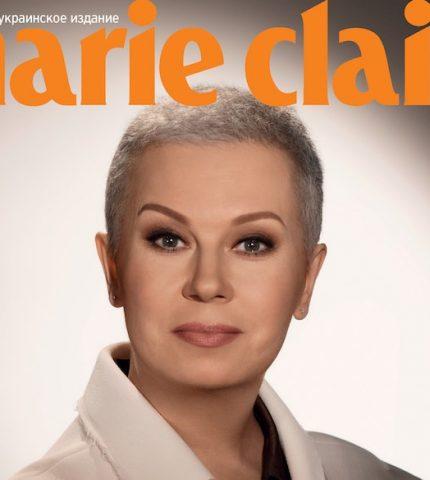 У свій День народження Алла Мазур надихає жінок всього світу на обкладинці Marie Claire Ukraine-430x480