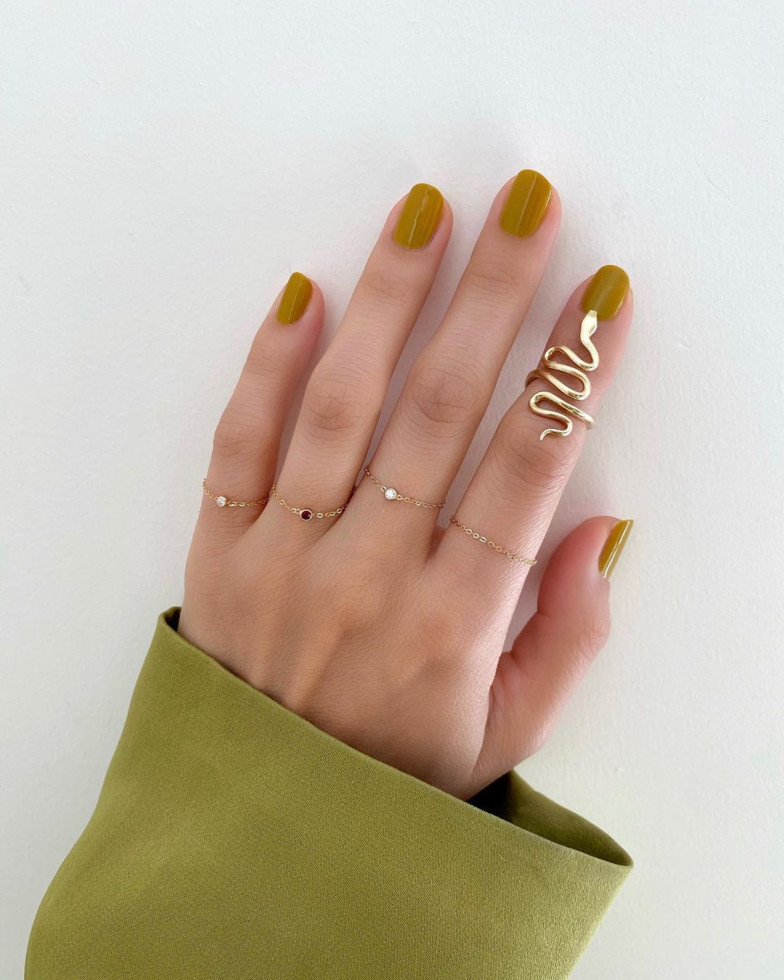 Nail-art: 7 актуальных оттенков осеннего маникюра-Фото 8