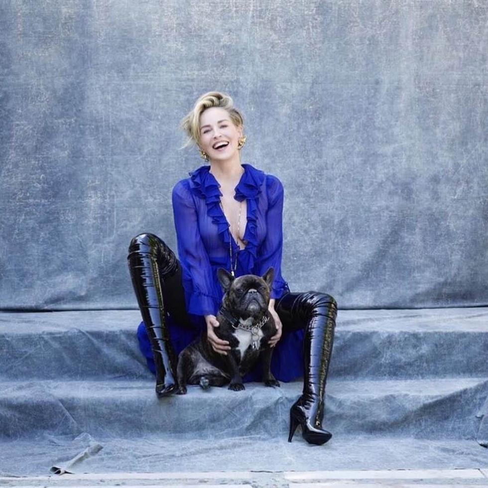 Секс-символ 60+: Шэрон Стоун продемонстрировала идеальную фигуру в новой фотосъемке-Фото 3