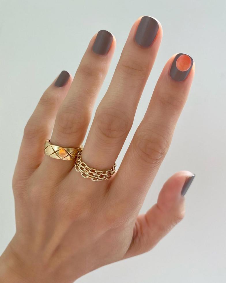 Nail-art: 7 актуальных оттенков осеннего маникюра-Фото 7