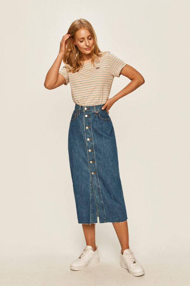 Жизнь в дениме: Самая универсальная юбка 2020 – 6 стильных сочетаний-Фото 7