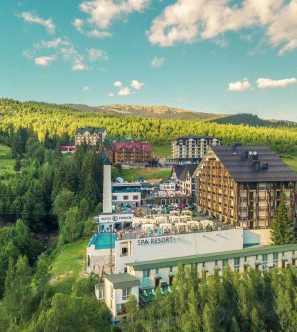 Готель F&B Spa Resort – це унікальне місце, де поєднуються спокій та розваги-430x480