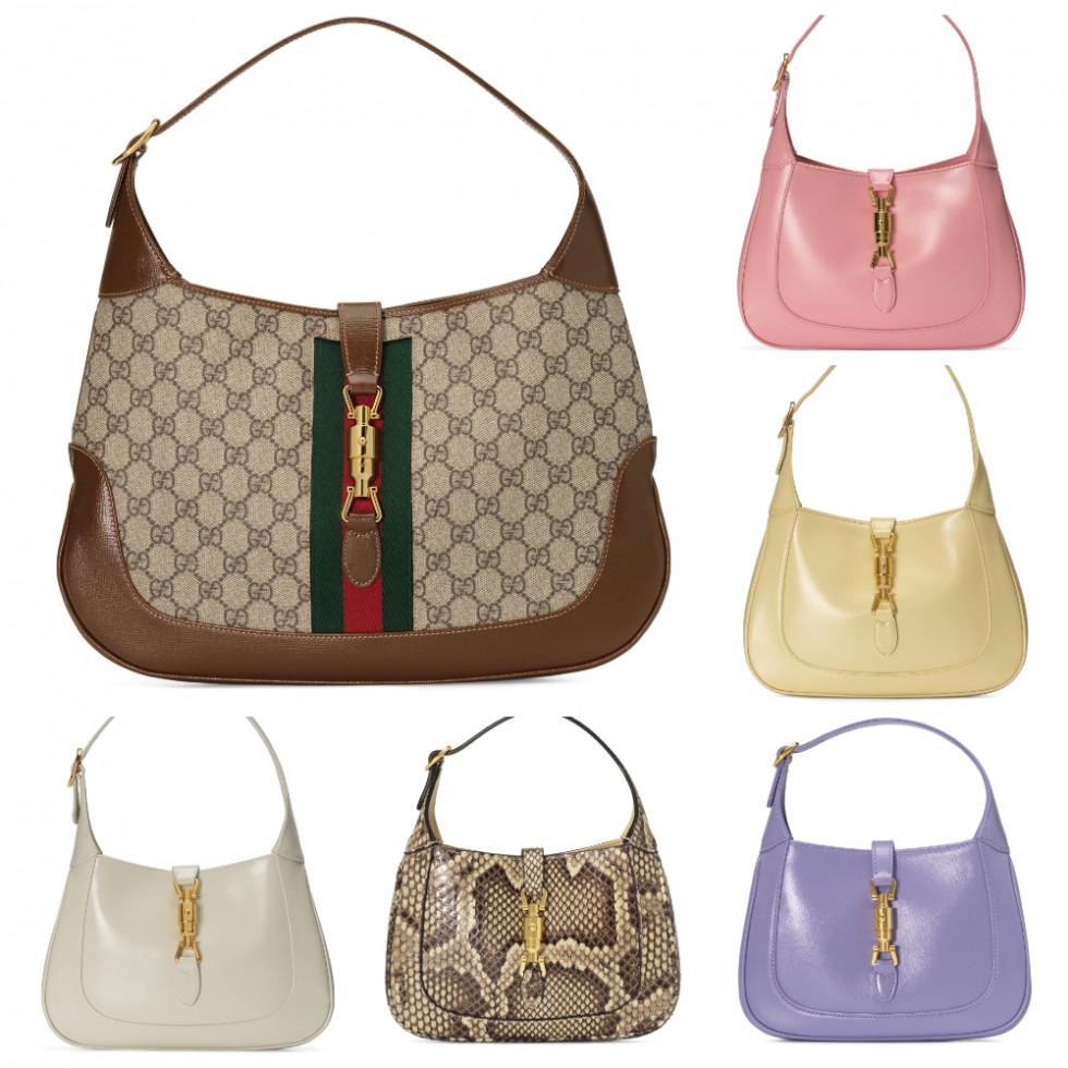 """Традиционное прочтение: Gucci воссоздает знаковую сумку """"Jackie 1961""""-Фото 4"""