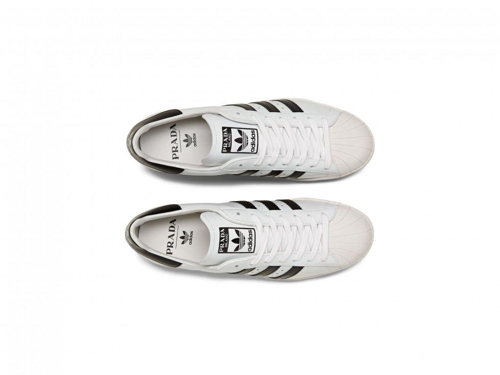 Prada и adidas Originals представляют вторую часть коллекции Prada Superstar, произведенную Prada-Фото 3