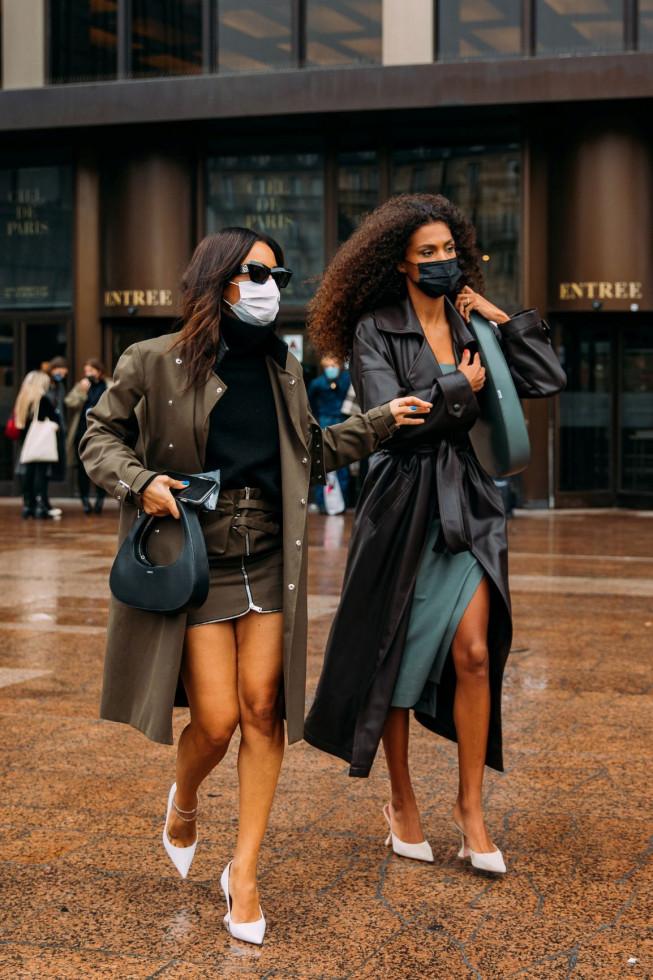 Тина Кунаки надела кожаный тренч от украинского бренда-Фото 1
