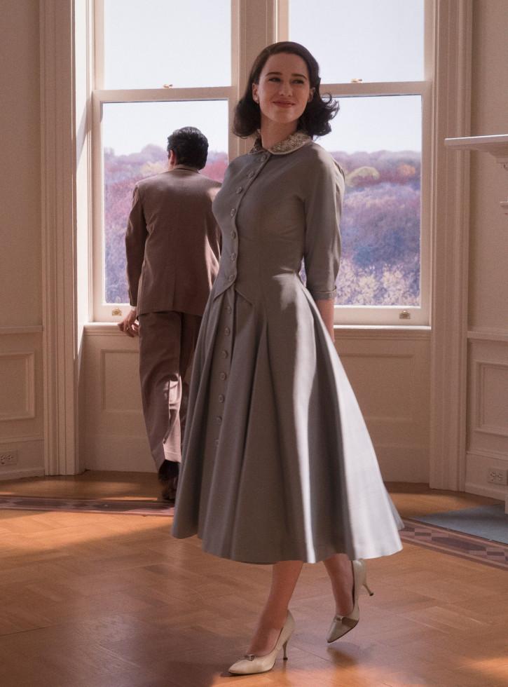 Самое модное платье осени 2020 — стильный нюанс для теплого дня-Фото 4