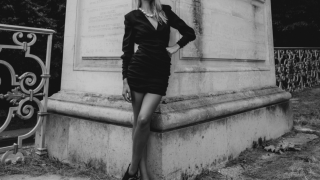 Черно-белая классика: fashion-съемка «Marly-le-Roi»-320x180