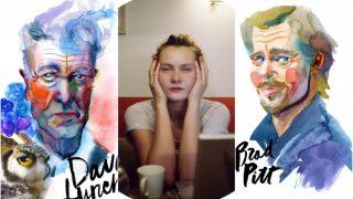 Кіно топ-5 української художниці, що малює зірок Голлівуду-320x180