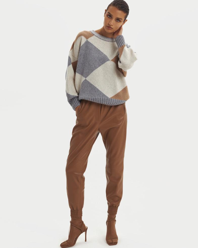 Цветная кожа, культовые пальто и геометрия: Осенне-зимняя коллекция 20/21 the COAT by Katya Silchenko-Фото 3