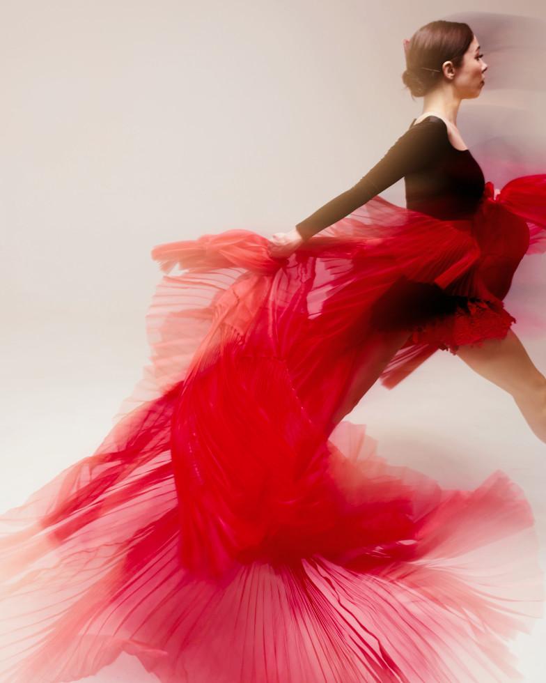 Бренд GUDU создал костюмы для Екатерины Кухар и Александра Стоянова в балете «Кармен-сюита»-Фото 4