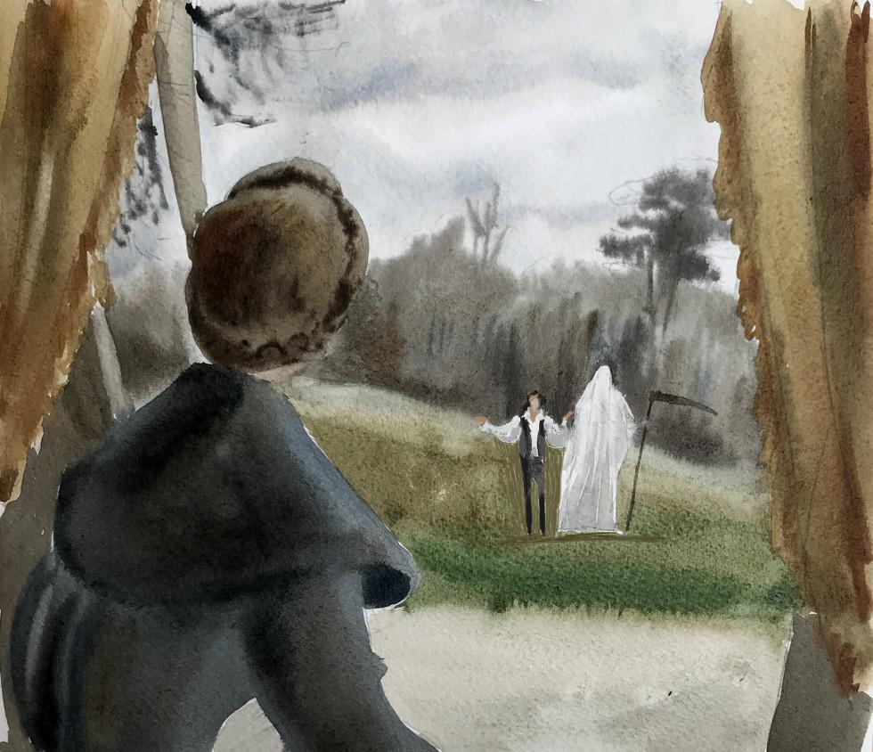 """фильм Аллена """"Любовь и смерть"""""""