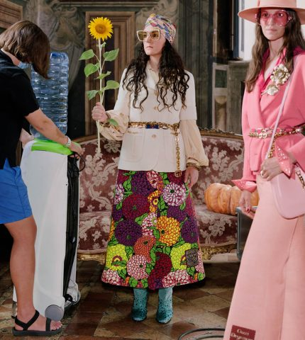 Что определяет моду: Gucci представил Эпилог своей истории о магии fashion-мира-430x480