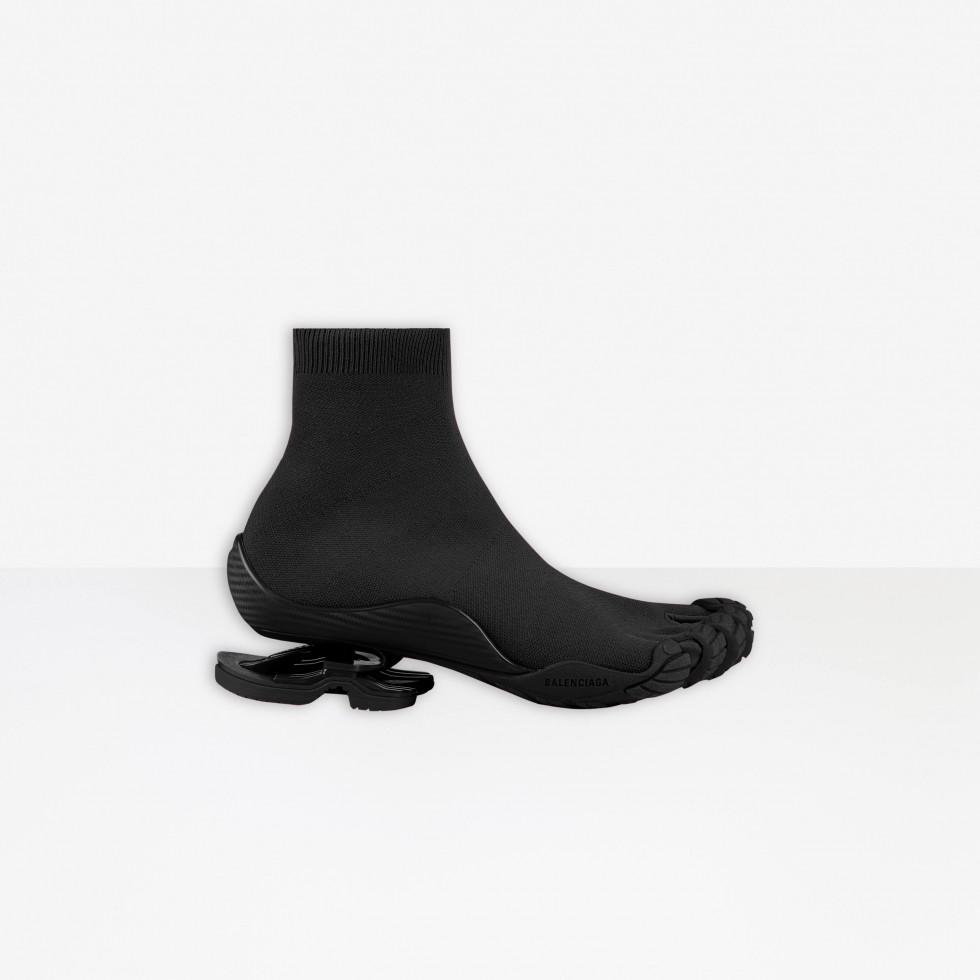 BALENCIAGA и VIBRAM представили новую модель вязанных кроссовок с пальцами-Фото 4