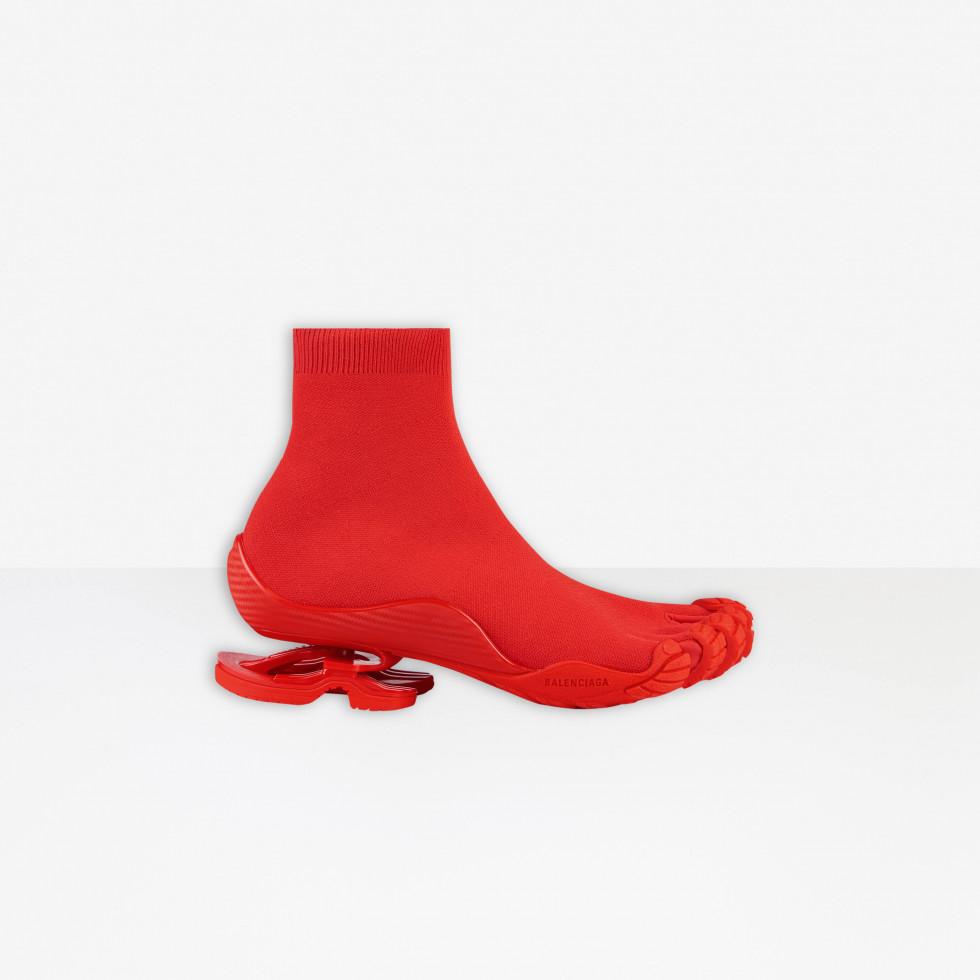 BALENCIAGA и VIBRAM представили новую модель вязанных кроссовок с пальцами-Фото 3