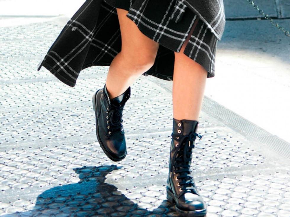 Байкерский подряд: Самые модные ботинки сезона осень-зима 2020-Фото 1
