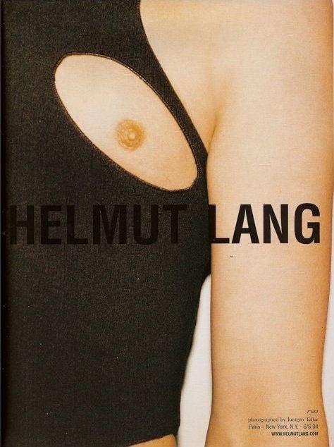 Рекламная кампания Helmut Lang весна-лето — 2004