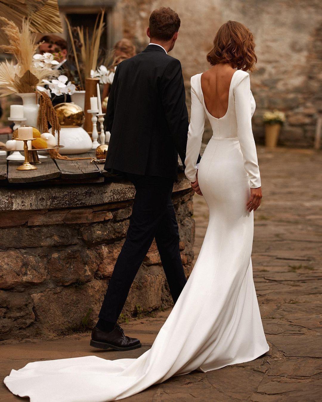 Вечные ценности: 10 трендов свадебной моды 2021 года-Фото 5