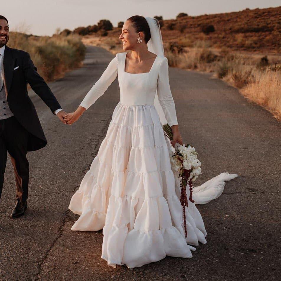 Вечные ценности: 10 трендов свадебной моды 2021 года-Фото 9