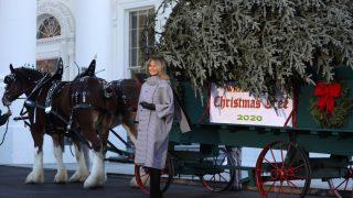 Мелания Трамп в последний раз украсит Белый дом к Рождеству-320x180