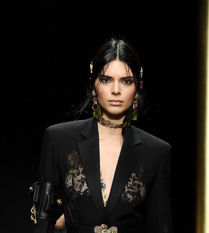 Kendall Jenner in Versace